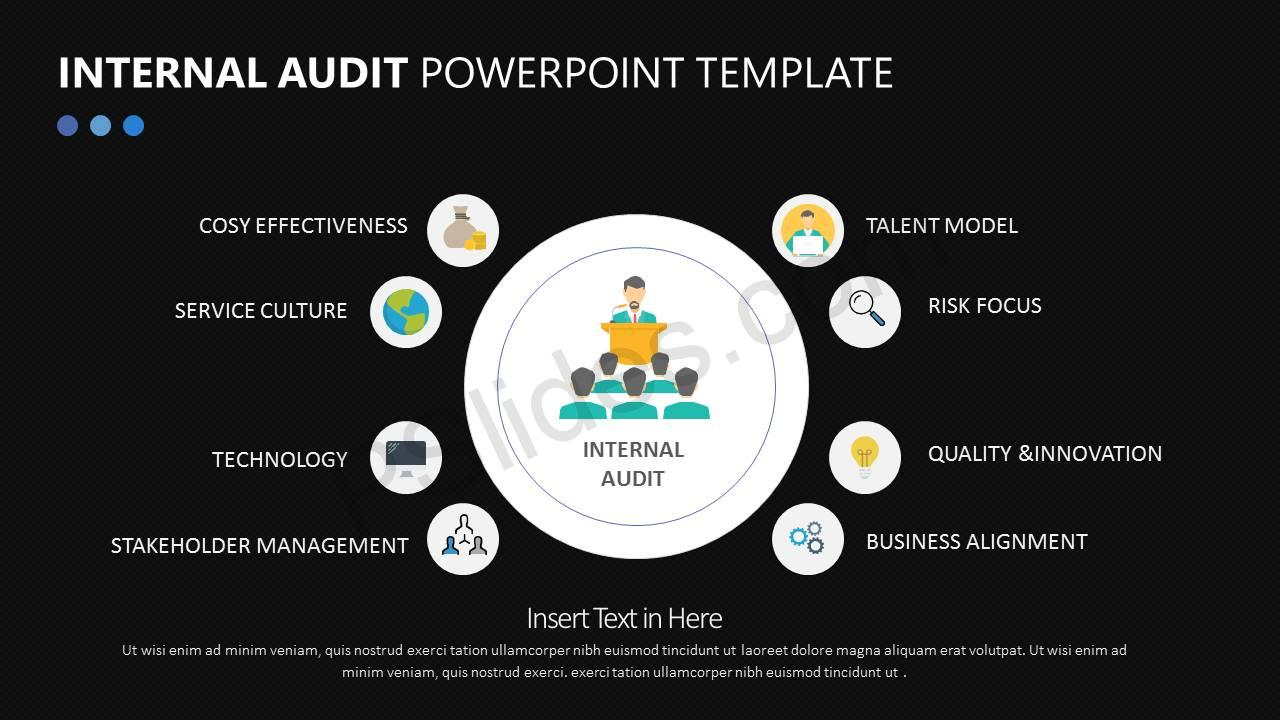 Internal Audit PowerPoint Diagram Slide4