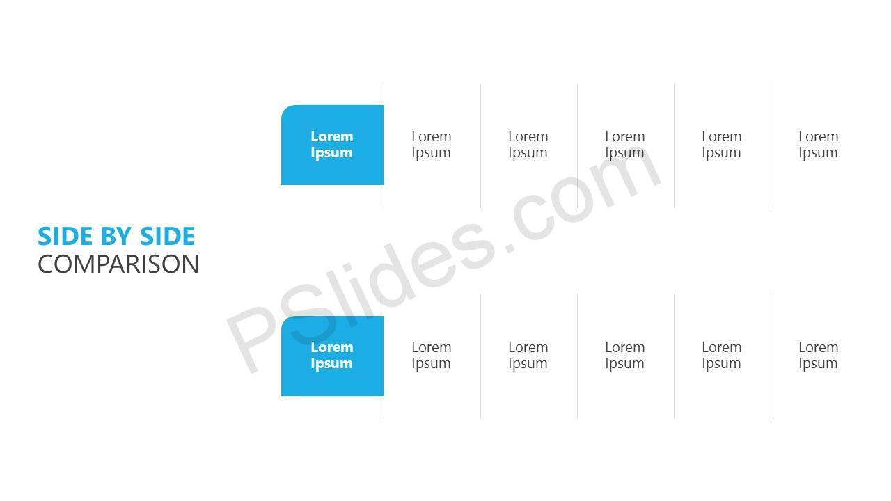 Side By Side Comparison Slide1