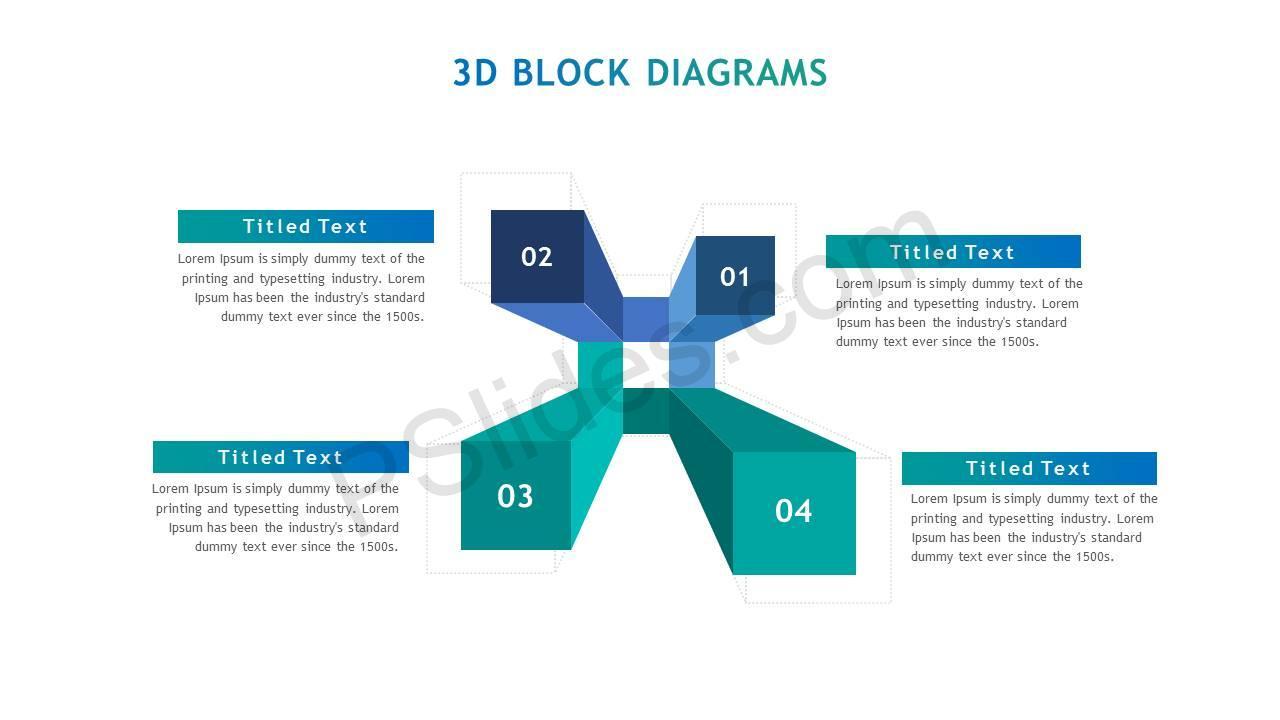 3D Block Diagrams - PSlides [ 720 x 1280 Pixel ]