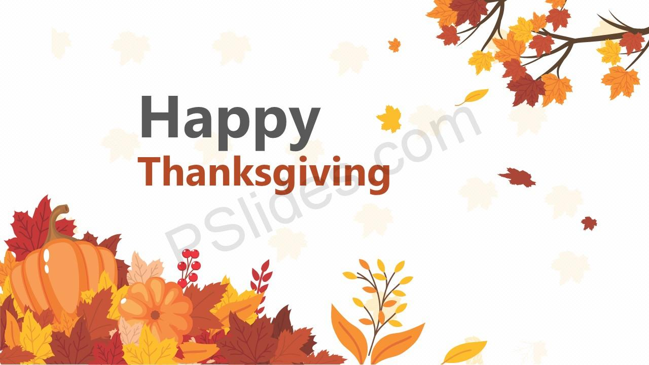Thanksgiving PowerPoint Template (1)