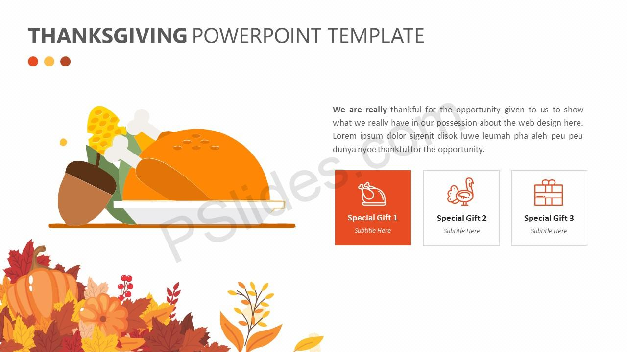 Thanksgiving PowerPoint Template (3)