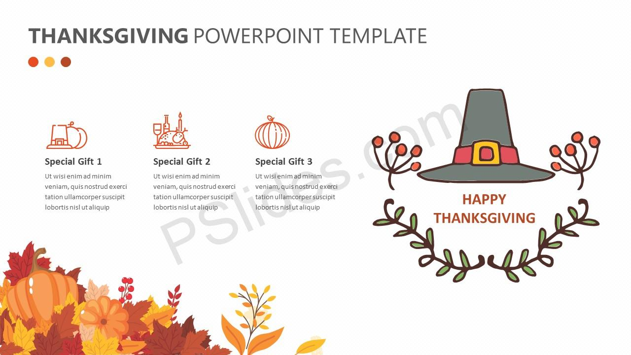 Thanksgiving PowerPoint Template (4)