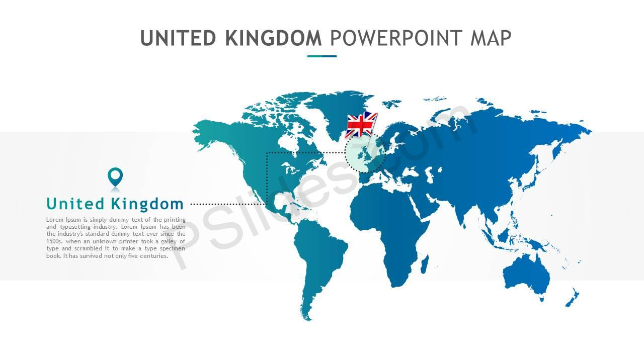 United Kingdom PowerPoint Map Slide2