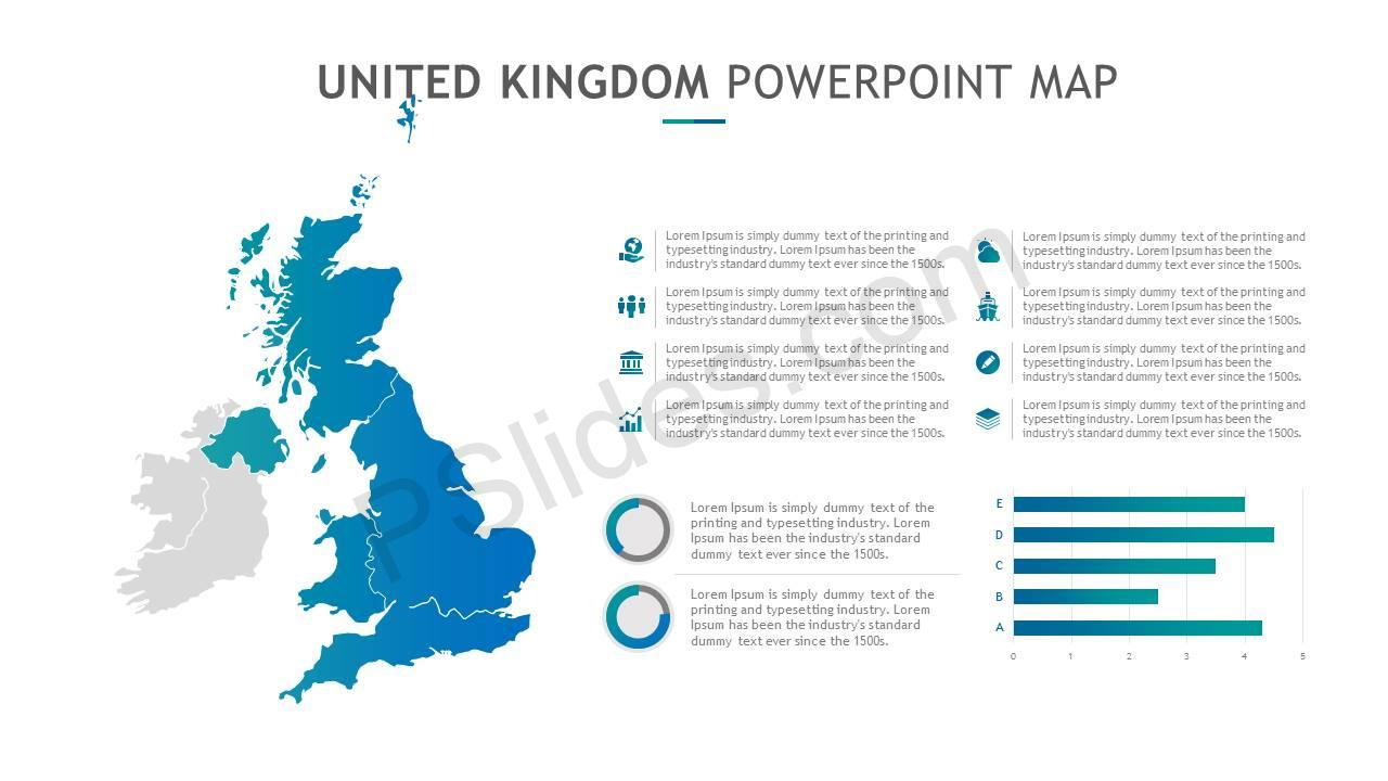 United Kingdom PowerPoint Map Slide3