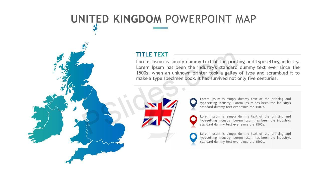 United Kingdom PowerPoint Map Slide5