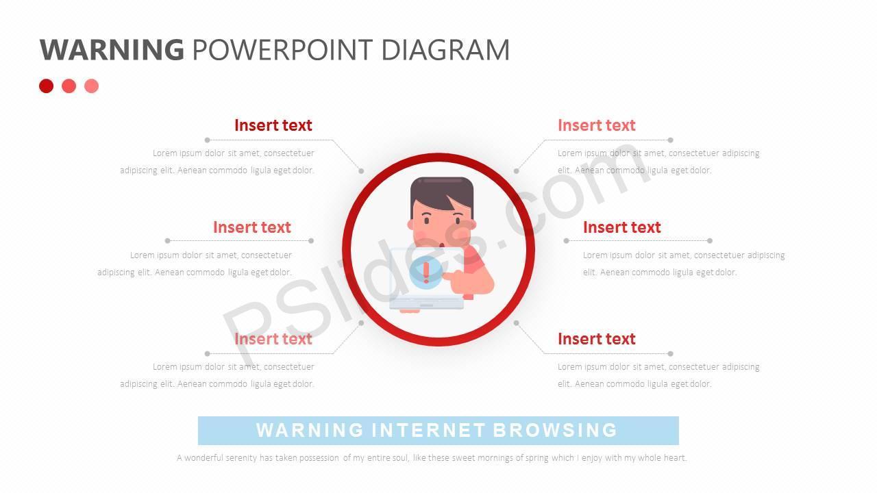 Warning PowerPoint Diagram Slide3