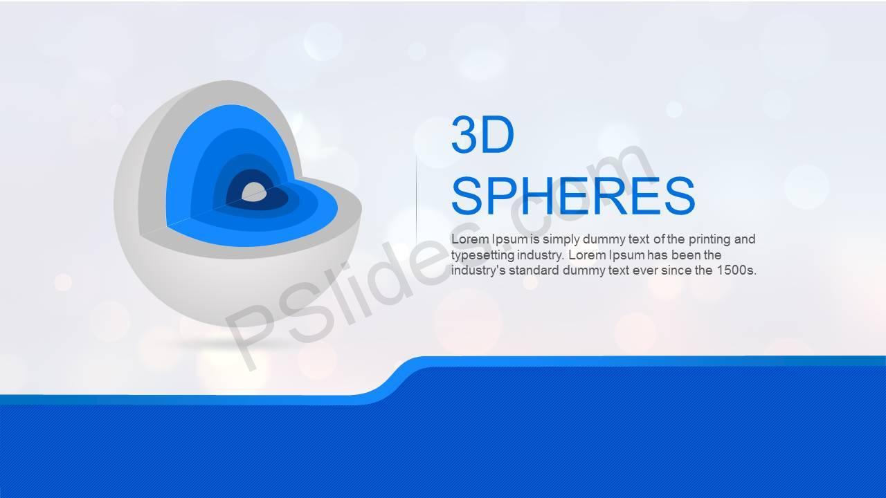 3D Spheres Slide1
