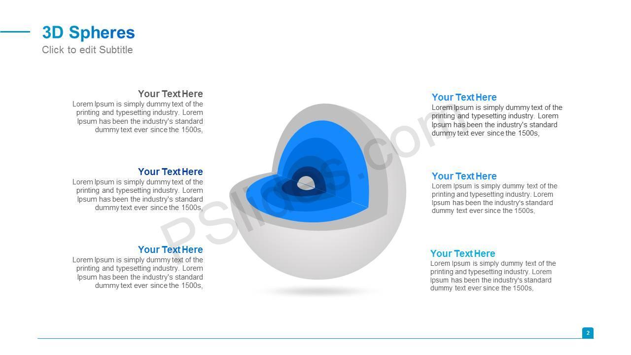 3D Spheres Slide3