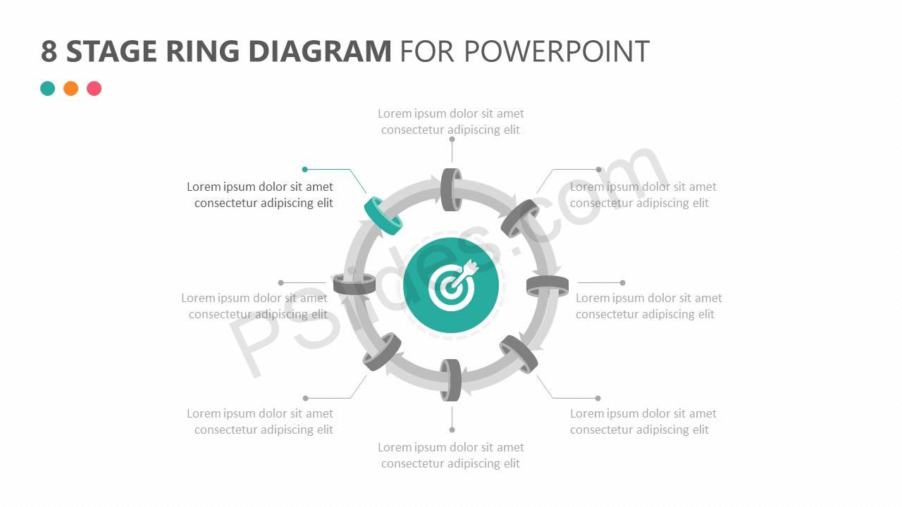 8 Stage Ring Diagram for PowerPoint Slide2