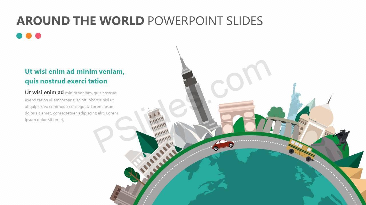 Around the World PowerPoint Slide Slide1