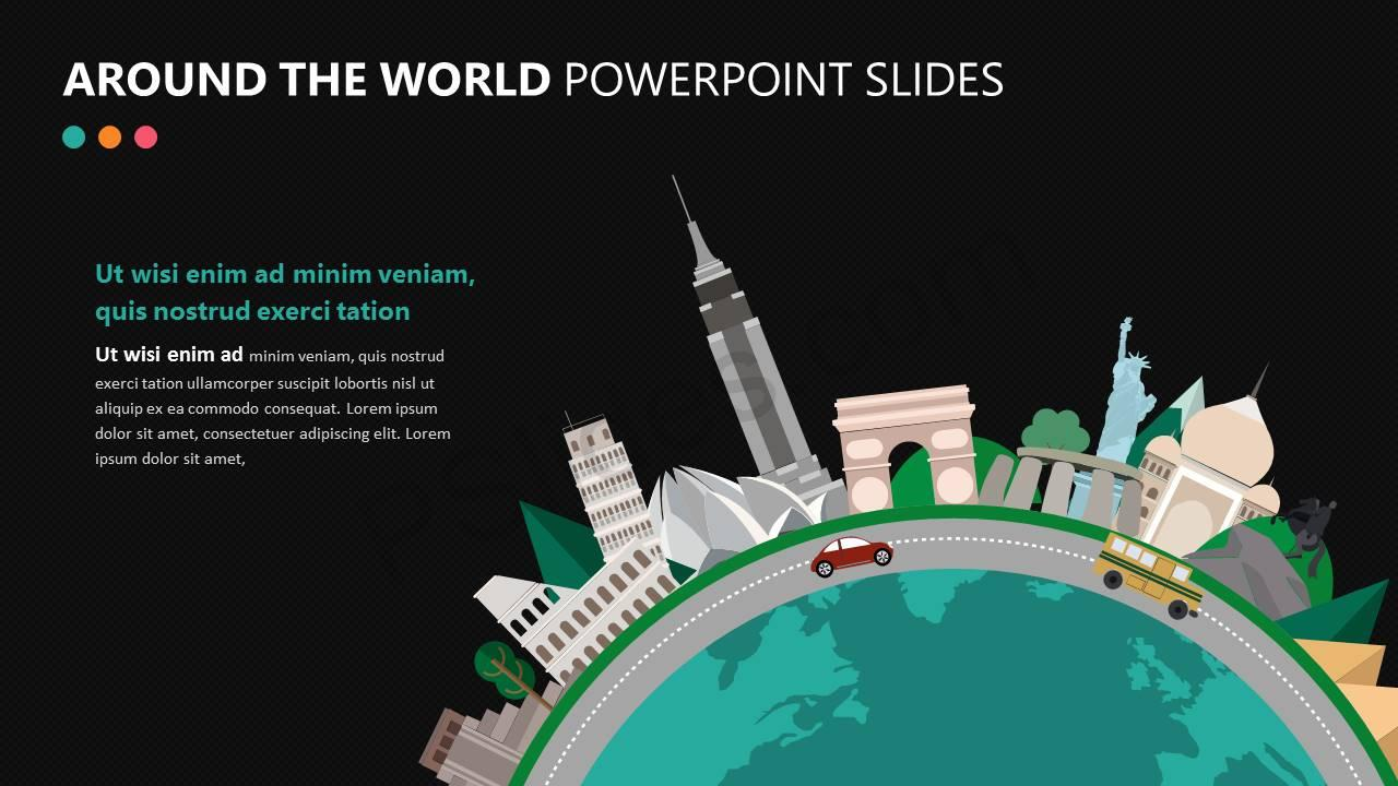 Around the World PowerPoint Slide Slide2