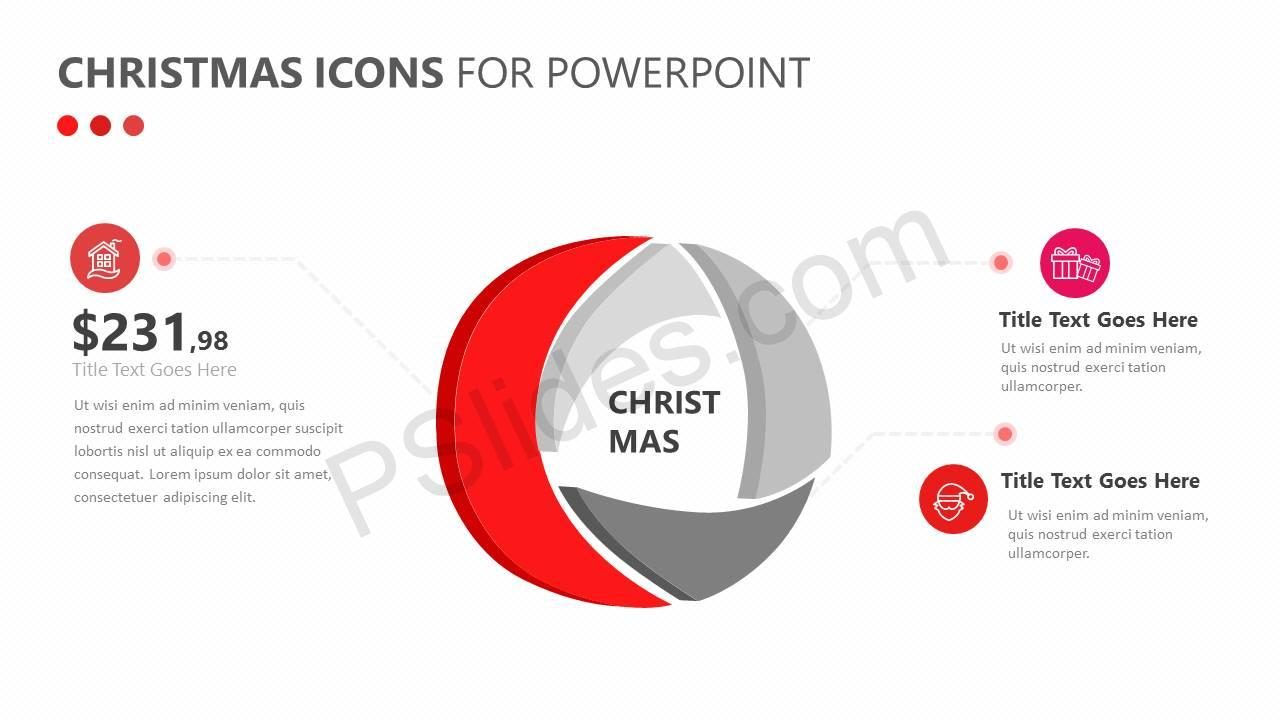 Christmas Icons for PowerPoint Slide1