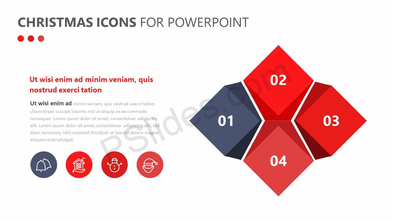 Christmas Icons for PowerPoint Slide3
