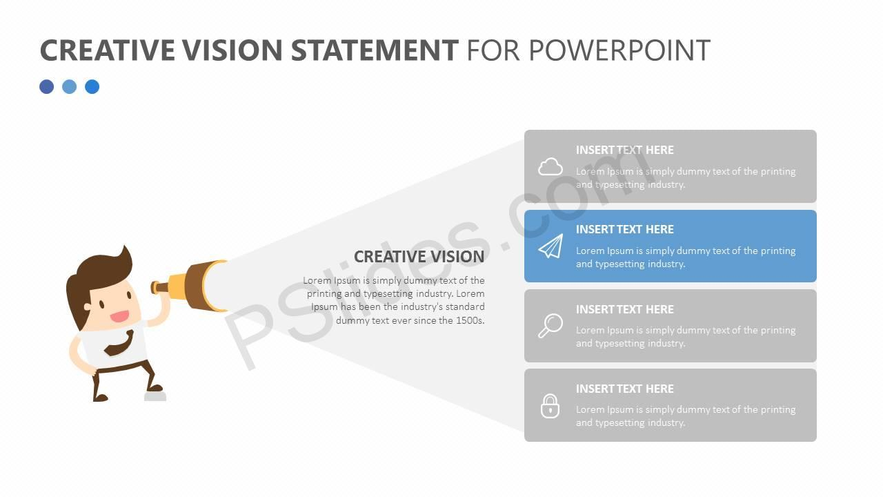 Creative Vision Statement for PowerPoint Slide2