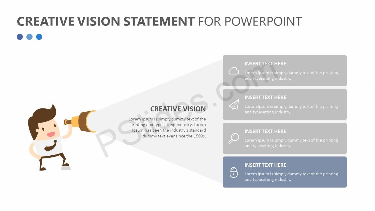 Creative Vision Statement for PowerPoint Slide3