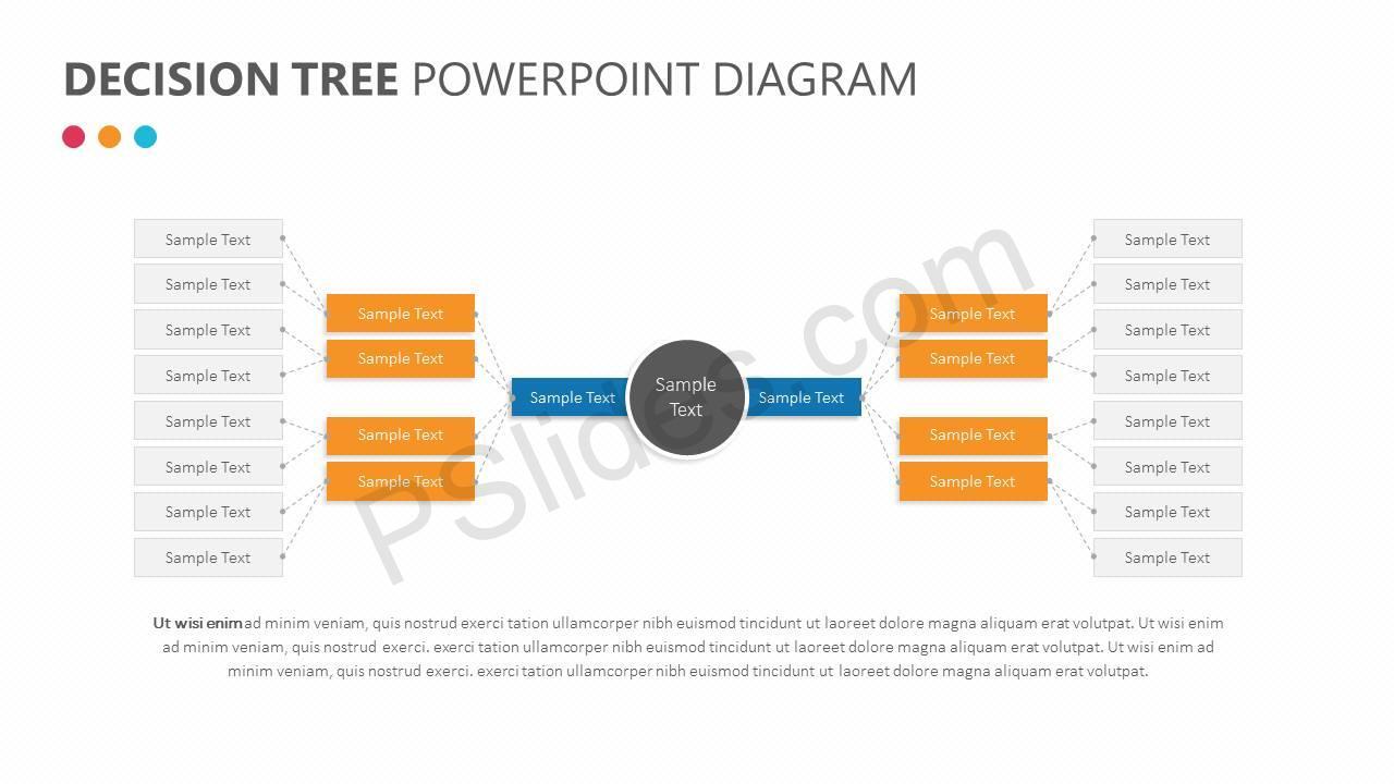Decision Tree PowerPoint Diagram Slide1