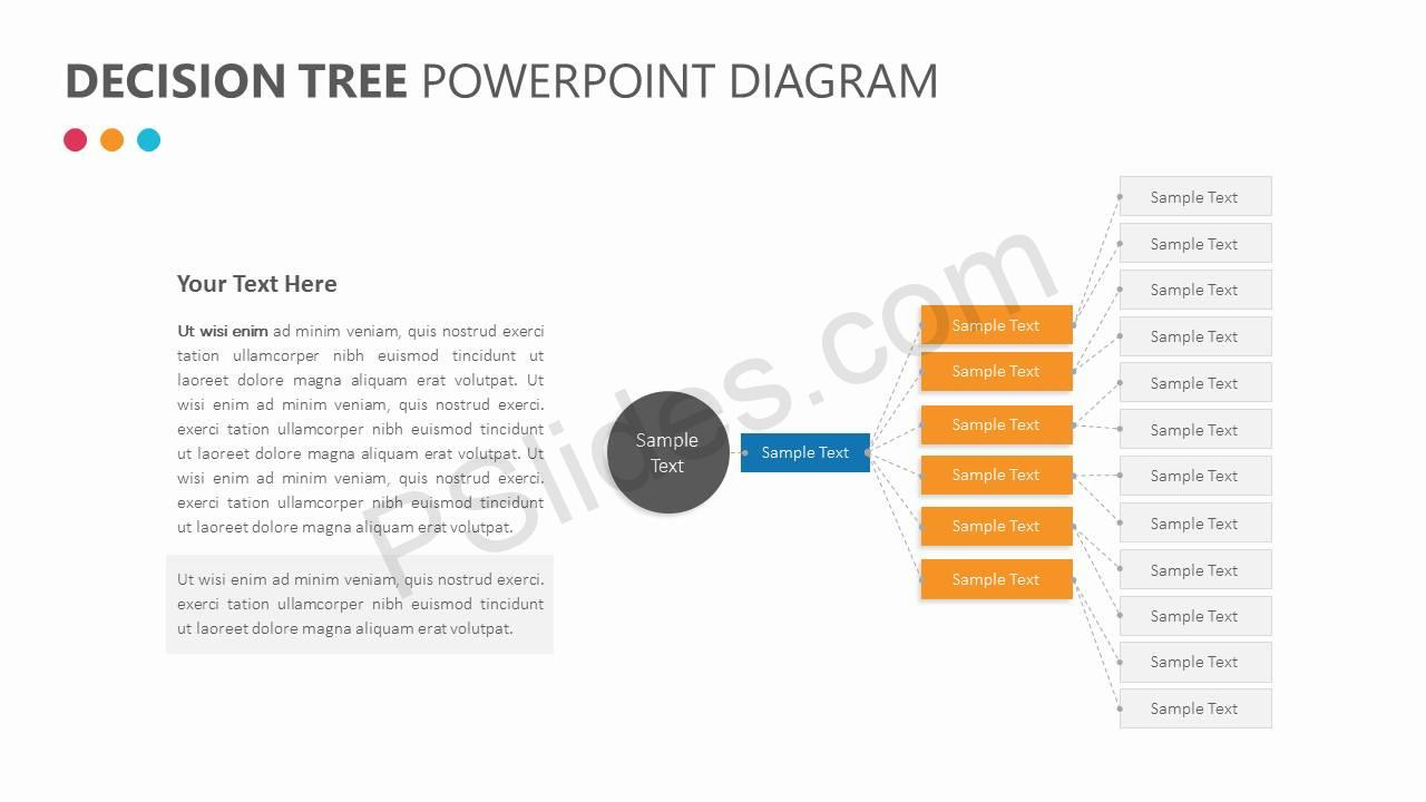 Decision Tree PowerPoint Diagram Slide3