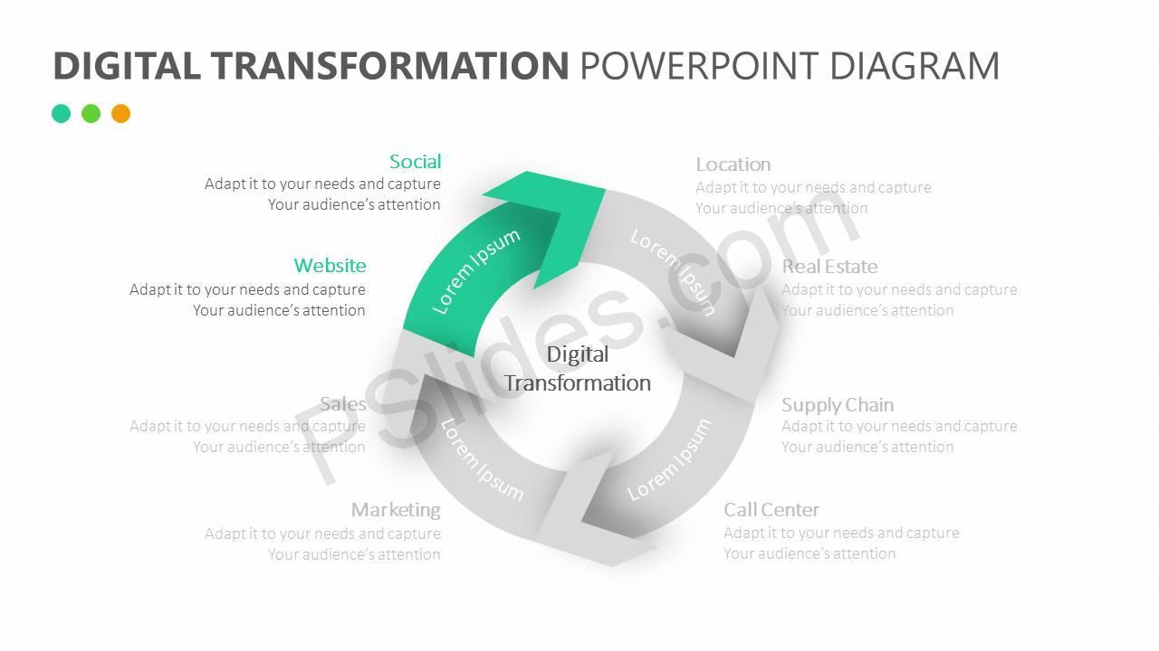 Digital-Transformation-PowerPoint-Diagram-Slide5