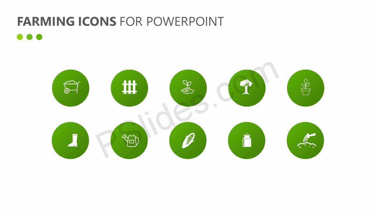 Farming Icons for PowerPoint Slide3