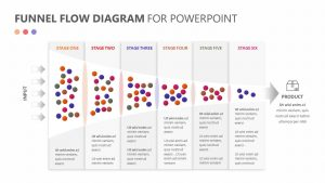 Funnel Flow Diagram for PowerPoint