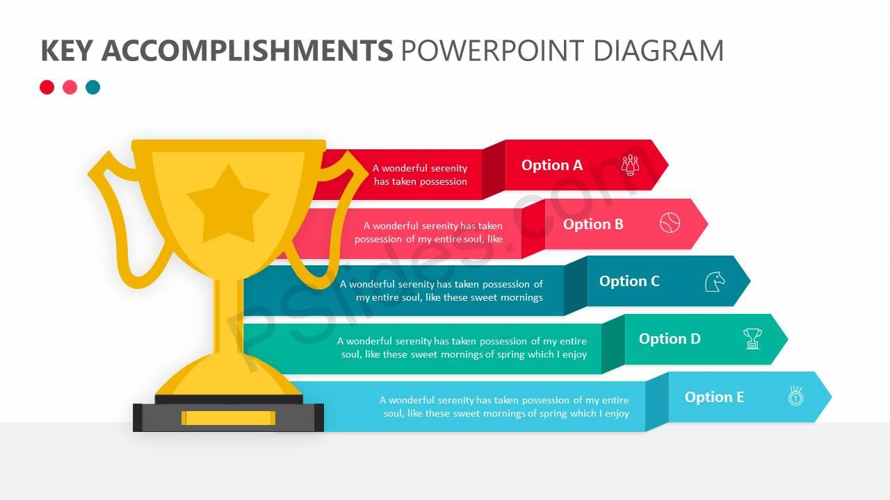 Key Accomplishments PowerPoint Diagram Slide1