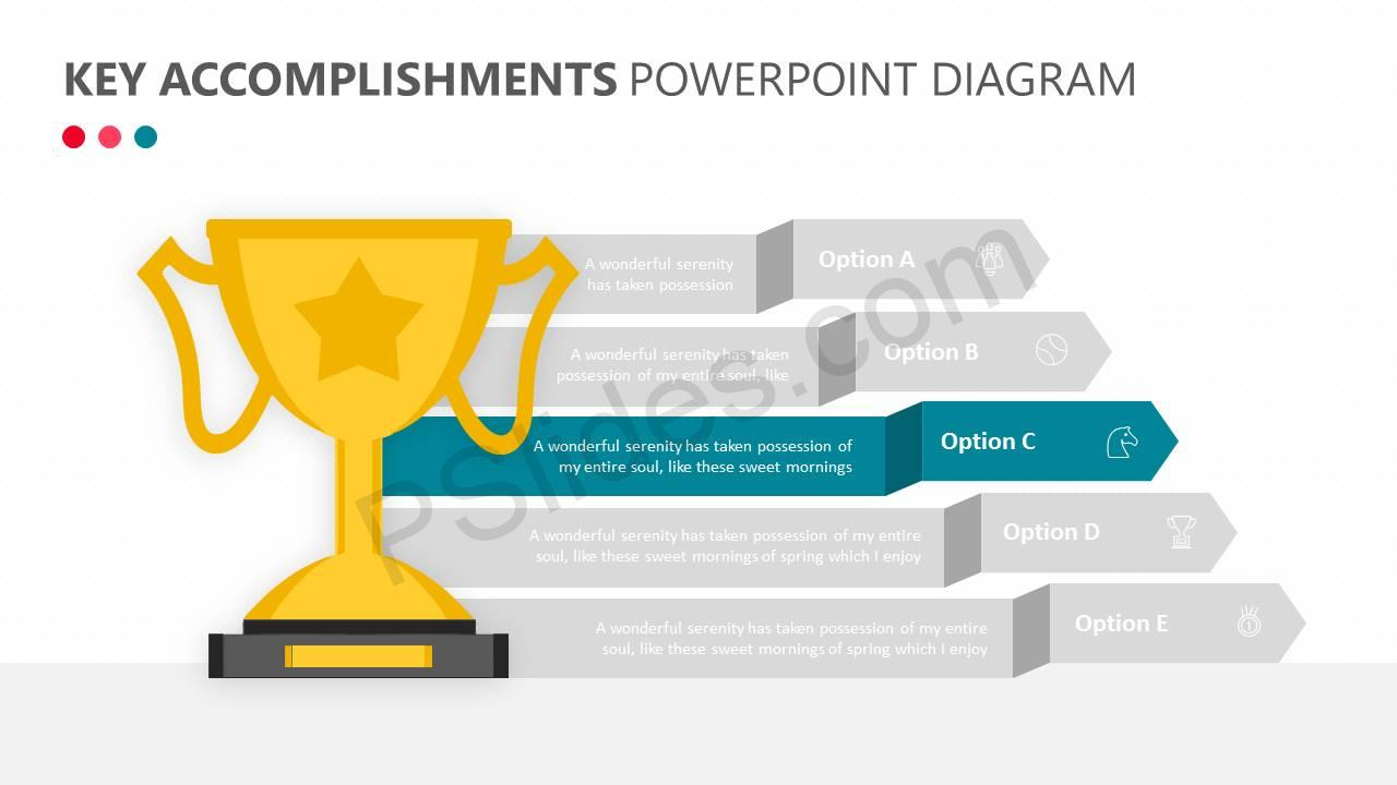 Key Accomplishments PowerPoint Diagram Slide2