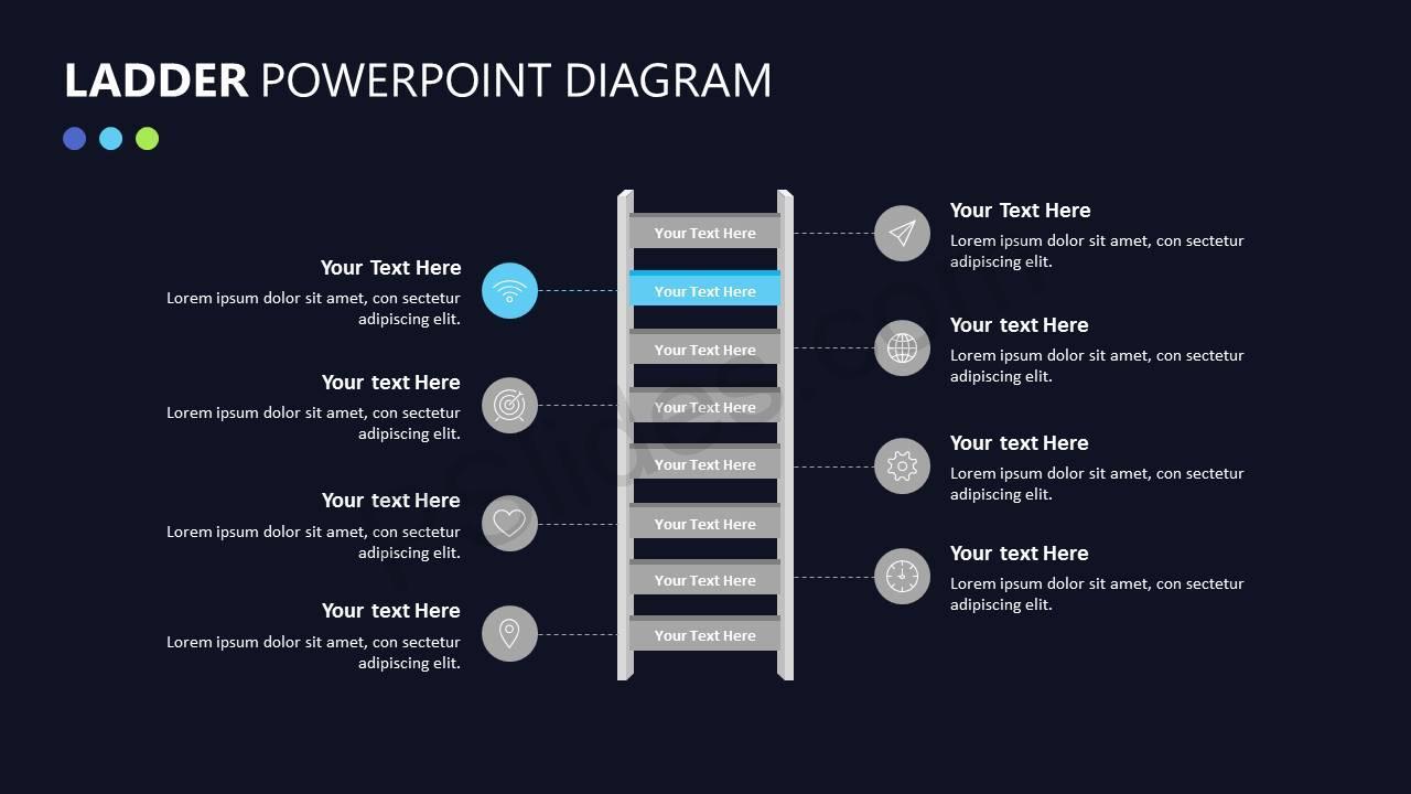Ladder PowerPoint Diagram Slide5