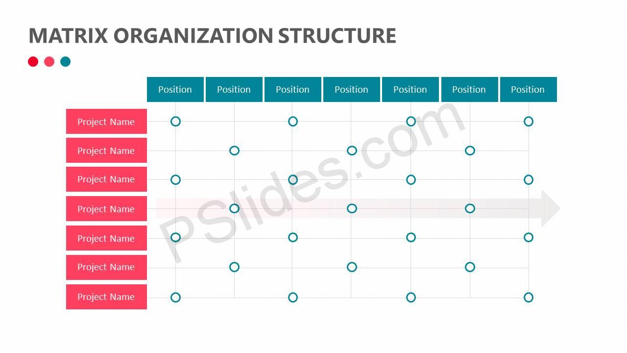 Matrix Organization Structure Slide2