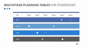 Multistage Planning Tables for PowerPoint Slide 2