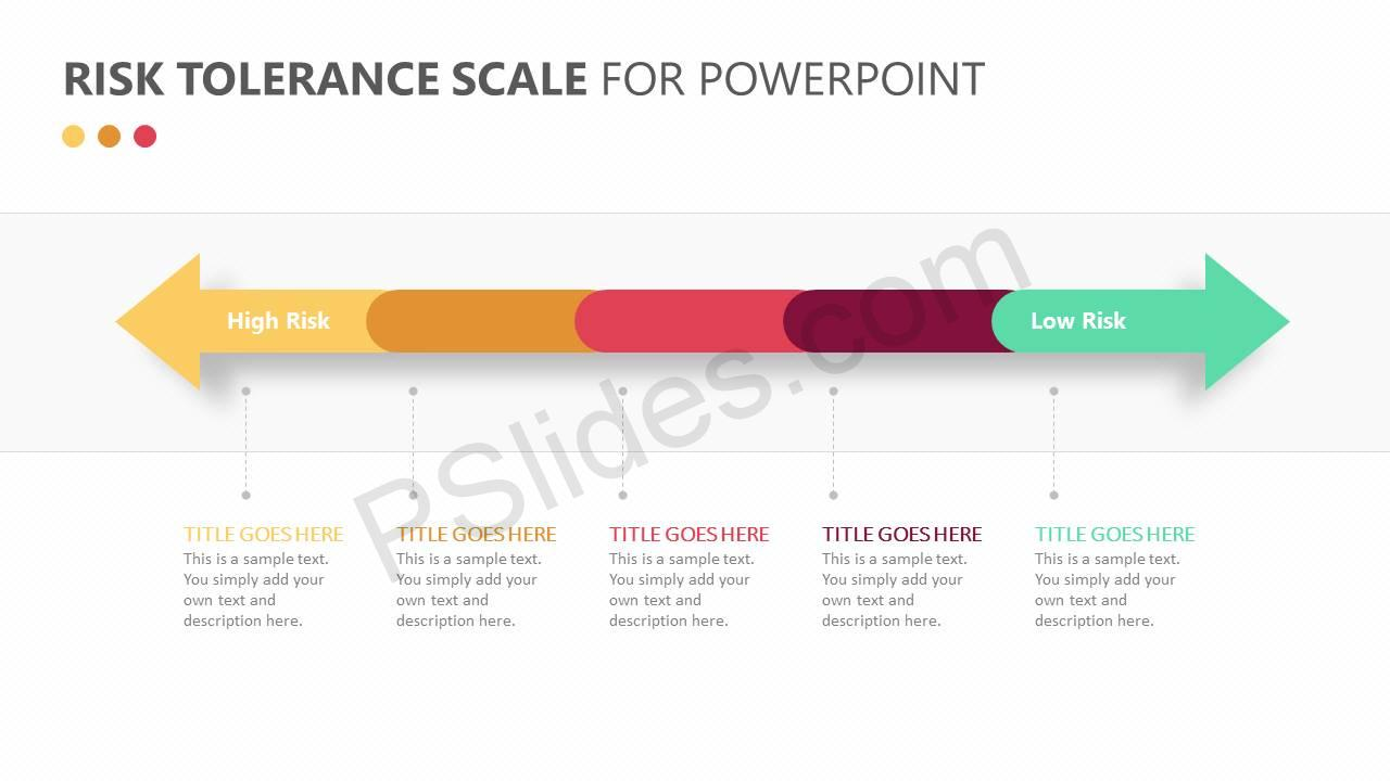 Risk Tolerance Scale for PowerPoint Slide 1