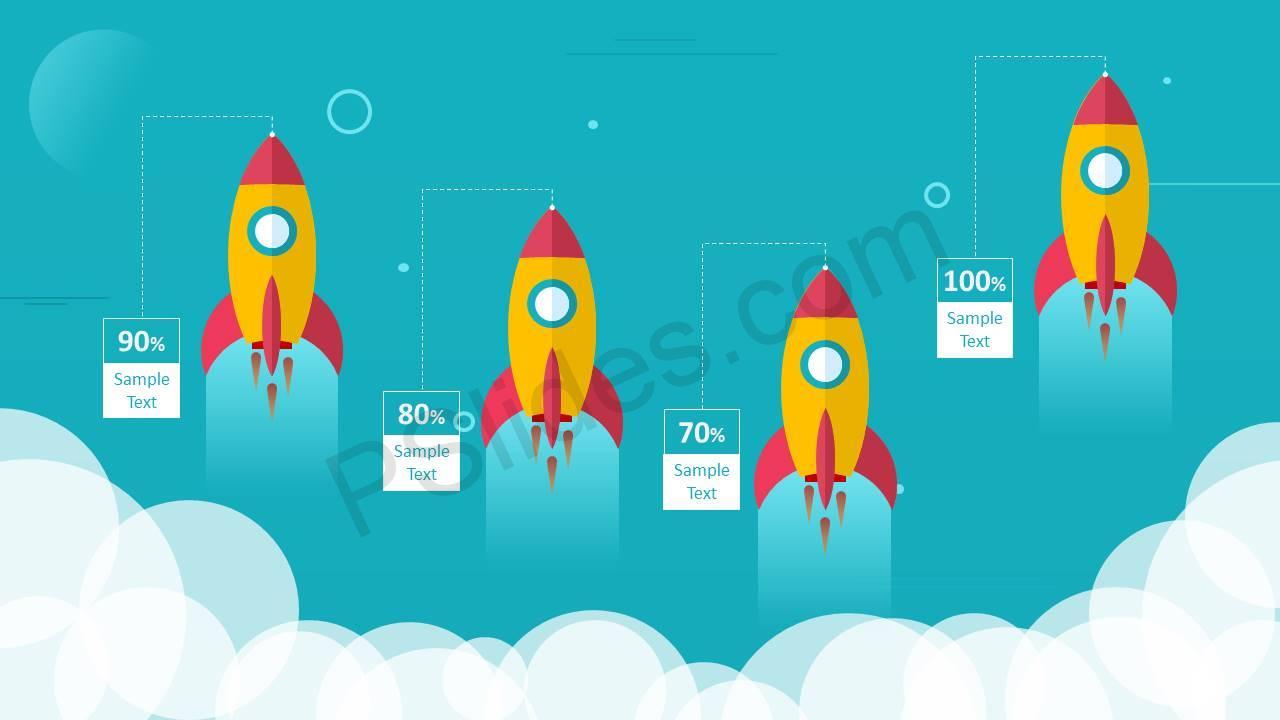 Rocket Comparison Slides for PowerPoint Slide1