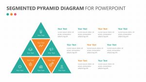 Segmented Pyramid Diagram for PowerPoint