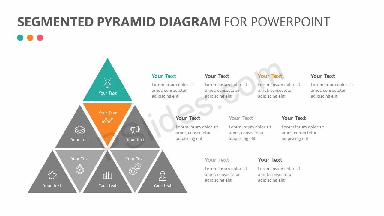 Segmented Pyramid Diagram for PowerPoint Slide 2