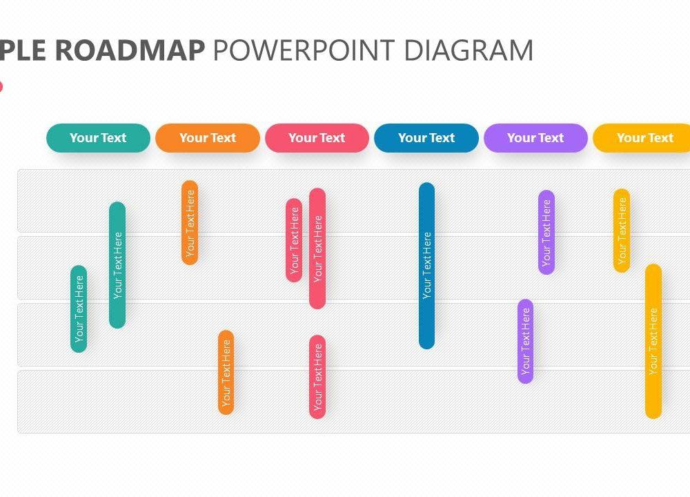 Simple Roadmap PowerPoint Diagram Slide3 Pslides