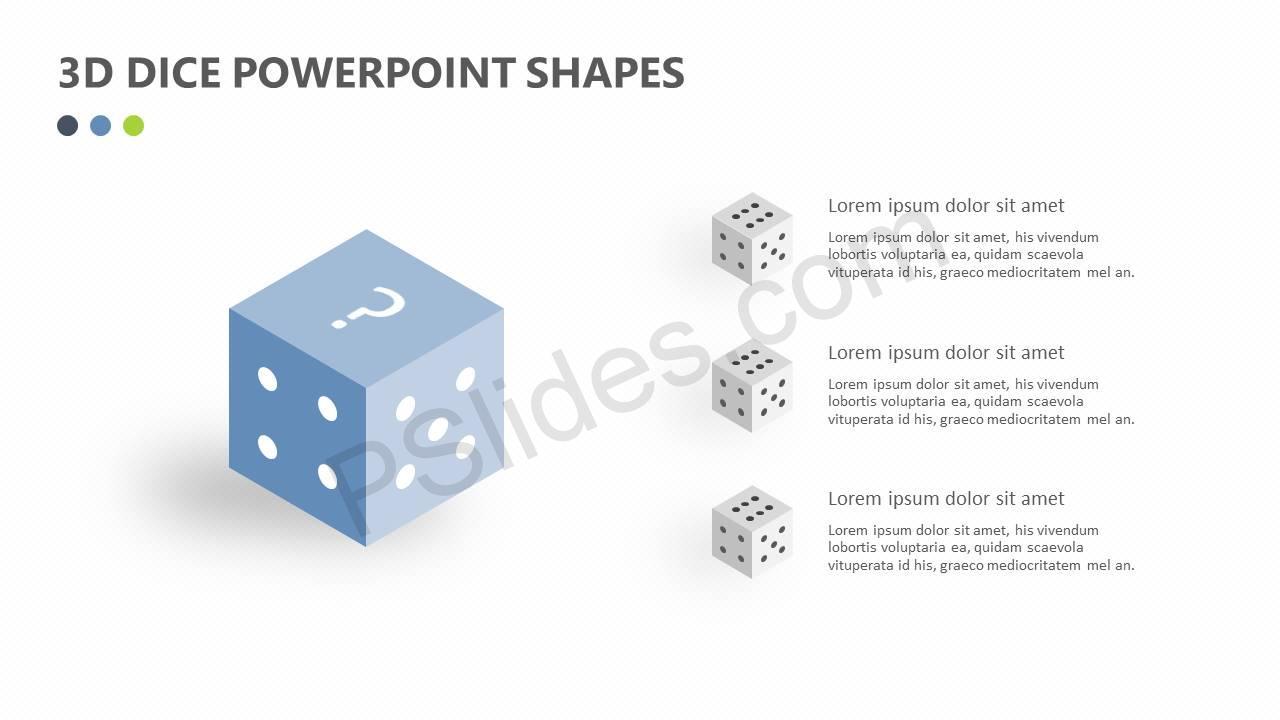 3D-Dice-PowerPoint-Shapes-Slide1