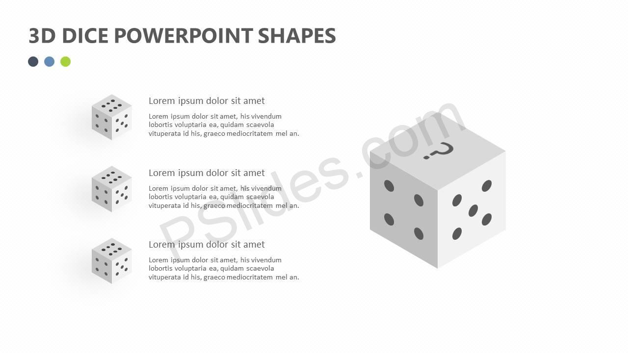 3D-Dice-PowerPoint-Shapes-Slide2