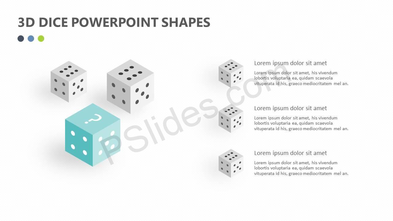3D-Dice-PowerPoint-Shapes-Slide3