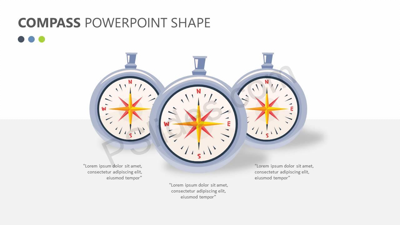 Compass-PowerPoint-Shape-Slide1