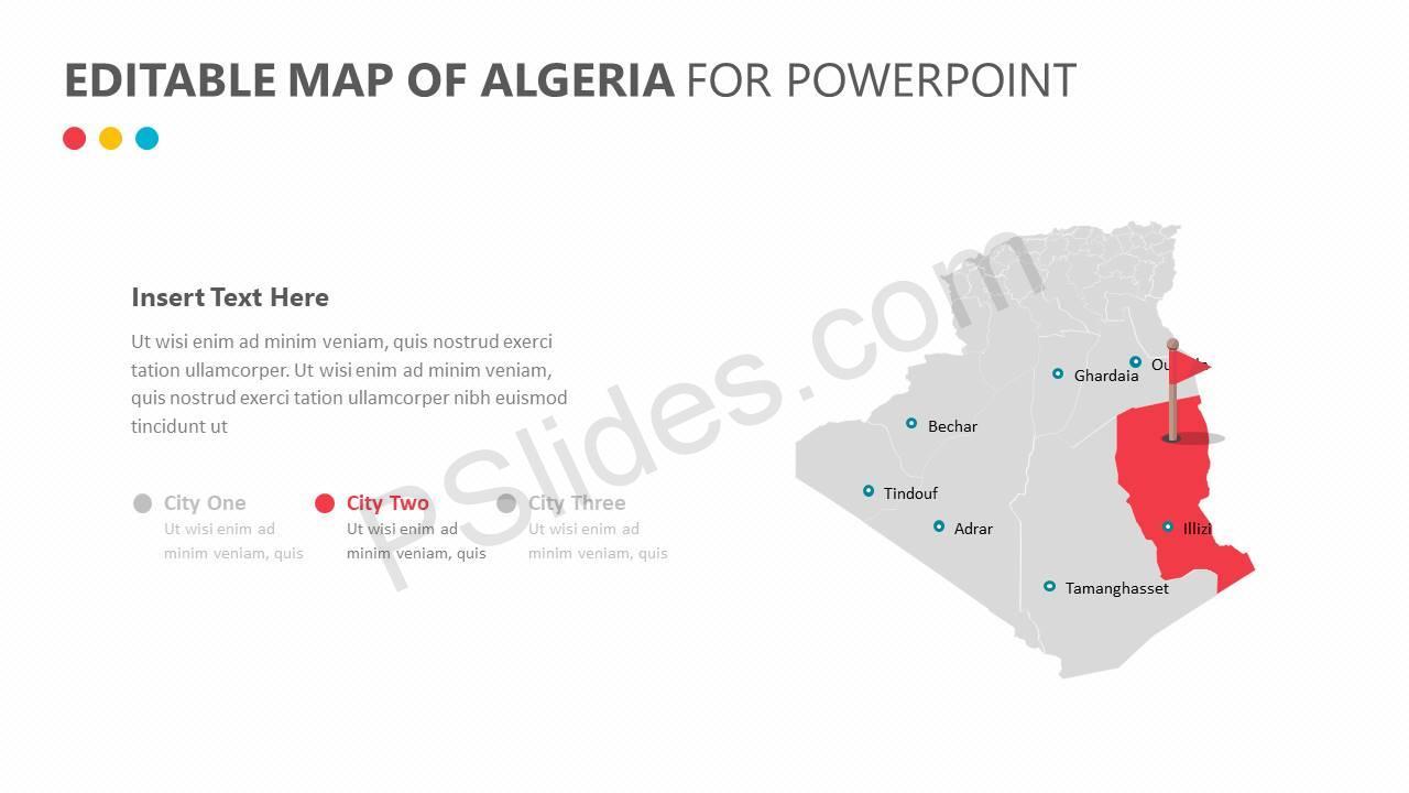 Editable-Map-of-Algeria-for-PowerPoint-Slide2