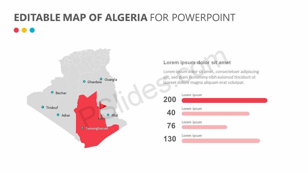 Editable-Map-of-Algeria-for-PowerPoint-Slide4