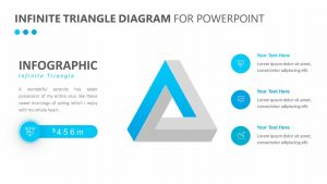 Infinite Triangle Diagram for PowerPoint