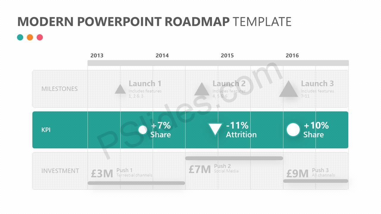 Modern-PowerPoint-Roadmap-Template-Slide2