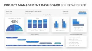 Project Management Dashboard for PowerPoint