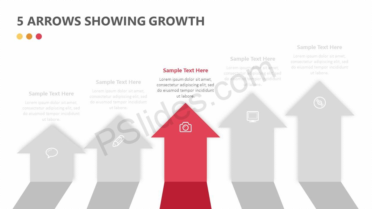 5-Arrows-Showing-Growth-Slide2