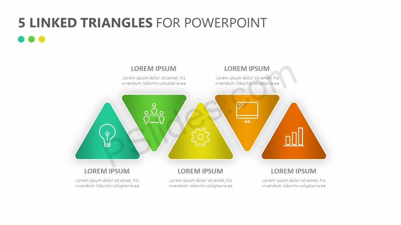 5-Linked-Triangles-for-PowerPoint-Slide1