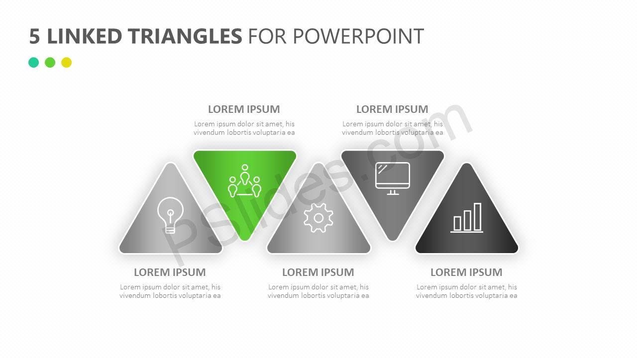 5-Linked-Triangles-for-PowerPoint-Slide2