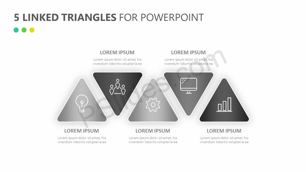 5-Linked-Triangles-for-PowerPoint-Slide3
