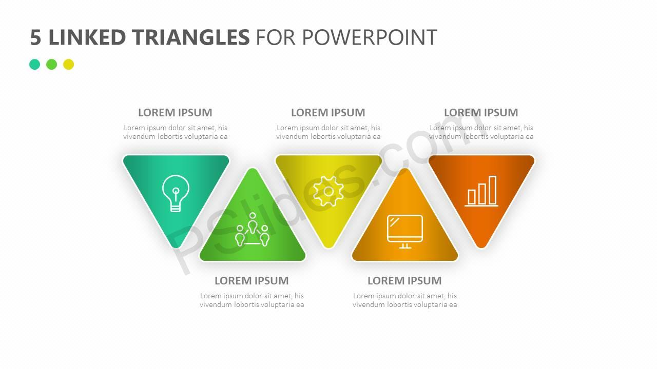 5-Linked-Triangles-for-PowerPoint-Slide4