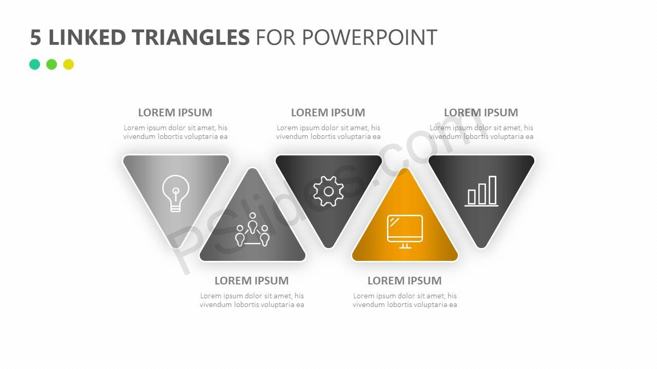 5-Linked-Triangles-for-PowerPoint-Slide5