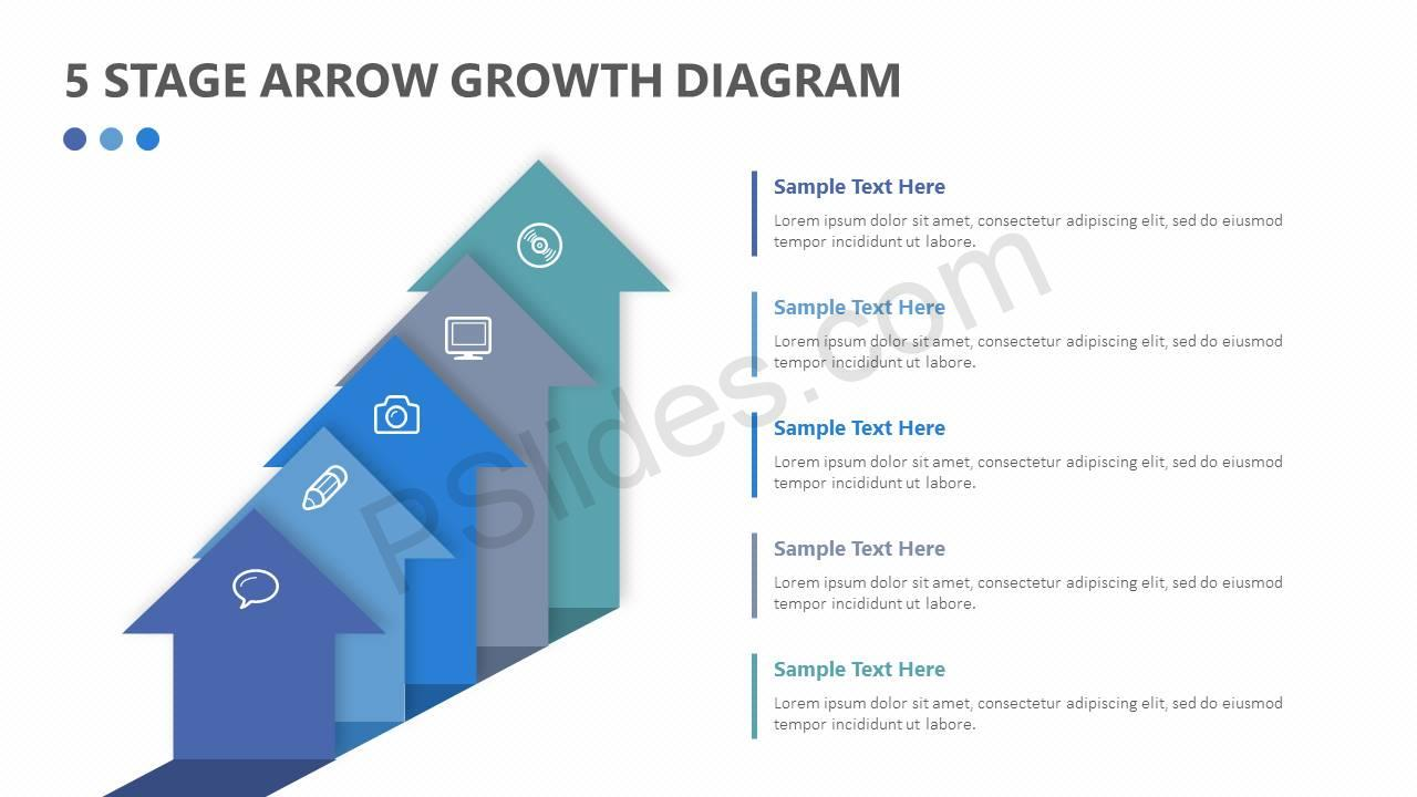 5-Stage-Arrow-Growth-Diagram-Slide1